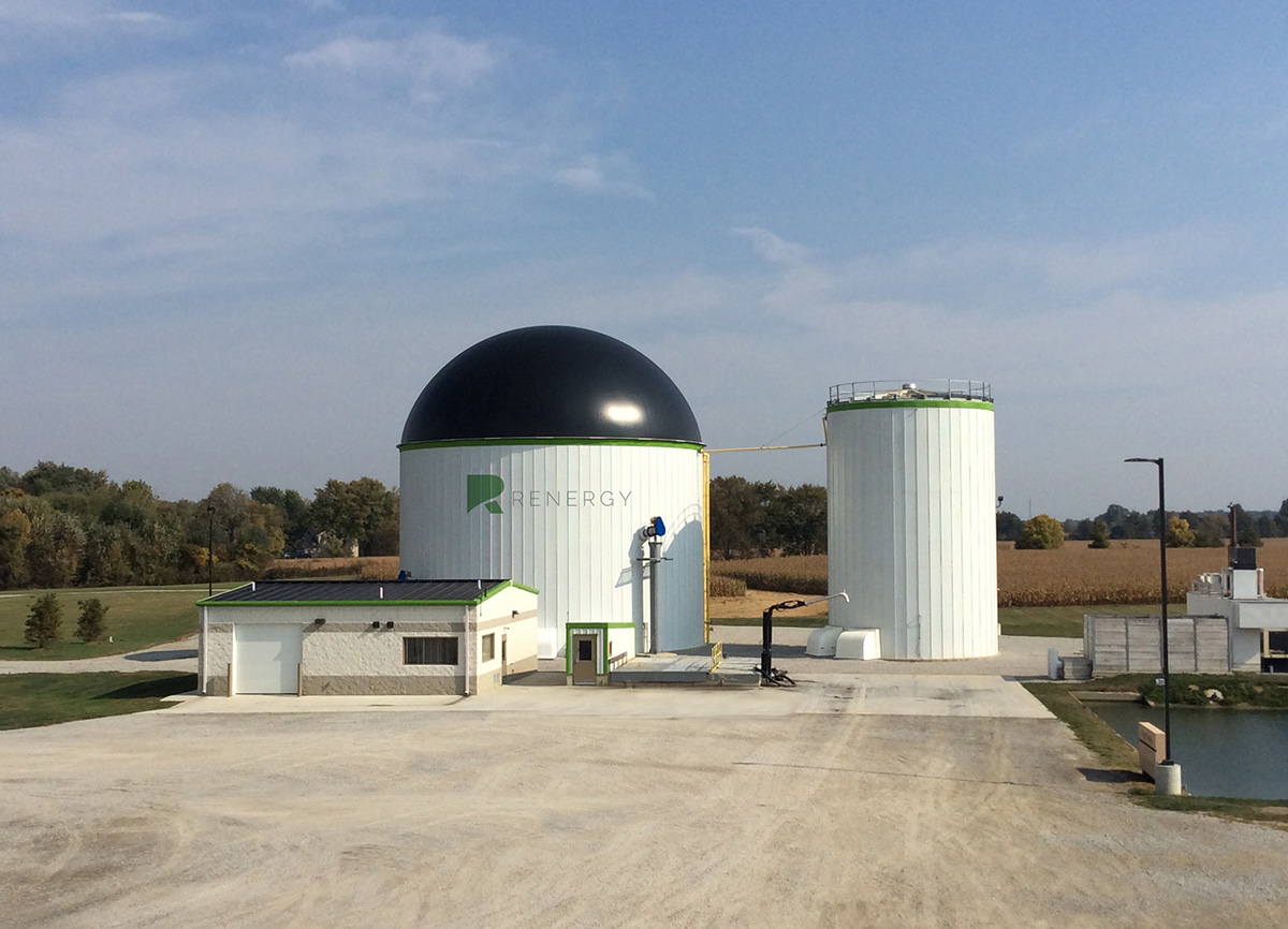 Renergy, Inc. Emerald bio-energy renewable energy company anaerobic digester