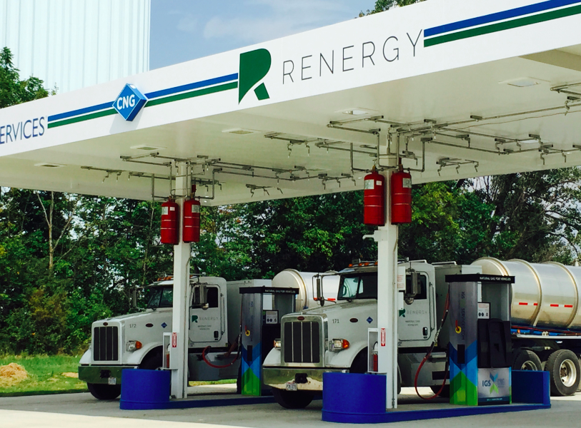 renergy-cng-fueling-station Renewable energy company Marengo Ohio