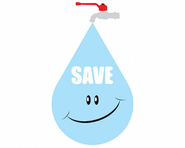 7 ways to save water at home renergy inc for Ways to save water at home