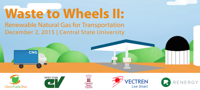Join Us at Waste to Wheels II: Renewable Natural Gas for Transportation 1-Day Conference - Renergy